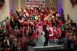 Level Grove Choir and Children CC15